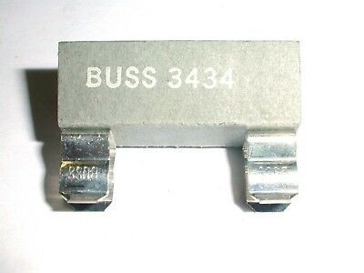 3434 Bussmann Twin Fuse Clip Insulated use with 1/4 x 1-1/4 inch fuses 1 piece