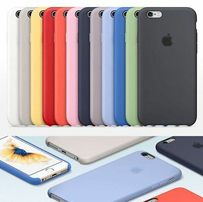 ORIGINAL Ultra-Thin Silicone Back Case Cover For Apple iPhone 7 7Plus 8 8 Plus