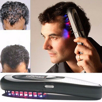 Laser Treatment Promote Growth Regrowth Stop Hair Loss Therapy Comb Kit Tasteful