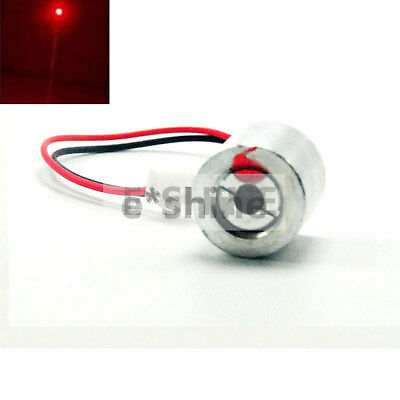 2.5V 650nm 100mW Red Dot Laser Modul Industrie Laserlicht 18x18mm