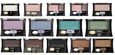 Maybelline New York Expert Wear Eyeshadow Singles 0.09 Ounce Select Your Colours