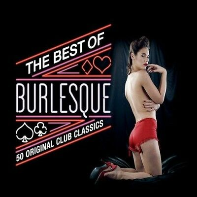Best Of Burlesque - Paula Watson, The Flamingos, The Cadets - 2 Cd Neu