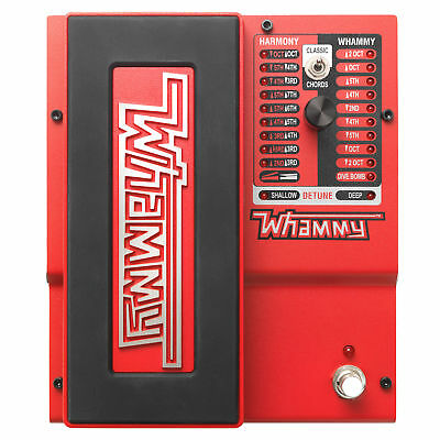 Digitech Whammy 5 Pitch Shifting Effects Pedal