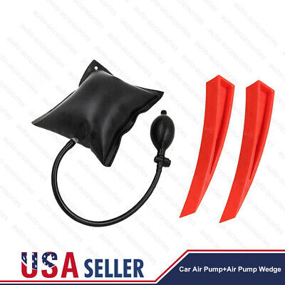 Car Door Open Tool Key Lock Out Emergency Tools Kit Unlock + Air Pump Universal