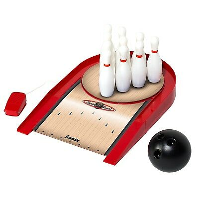 Franklin Sports Spin N Bowl Bowling, Red, One Size. Shipping is Free