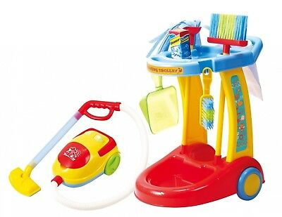 PlayGo My Cleaning Trolley with Vacuum Cleaner. Free Delivery