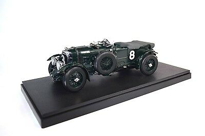 DISPLAY PLINTH BLACK PLASTIC 1:18 SCALE T9 340 x 152 TOP MODEL NOT INCLUDED
