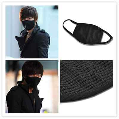 New Fashion Unisex Black Health Cycling Anti-Dust Cotton Mouth Face Mask Respira