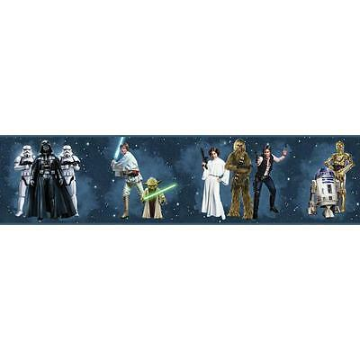 Star Wars Classic Characters on Sure Strip Wallpaper Border DY0287BD