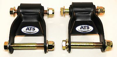 ATS Springs Chevy/GMC Silverado/Sierra Leaf Spring Shackle Kit -Replaces 722-029