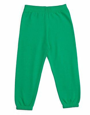 Leveret Soft Cozy Green Boys Girls Sweatpants (Size 2-14 Years)