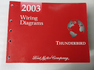 2005 ford thunderbird electrical wiring diagrams service manual oem rh picclick co uk 2007 Ford Thunderbird 1957 Ford Thunderbird