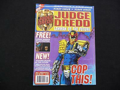 Judge Dredd Lawman of the Future Issue 1 with free poster - 1995 (LOT#1514)