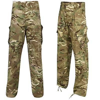 British Army Issue Surplus PCS MTP Warm Weather Military Combat Trousers Grade 1