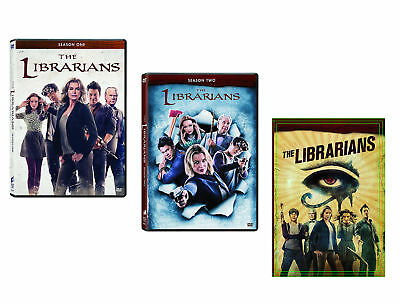 The Librarians:Complete Season One+Two+Three 1-3 (3 DVD Sets) NEW 1 2 3 TNT
