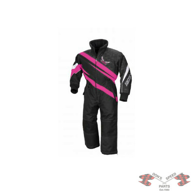5250-610 Arctic Cat Youth Team Arctic One-Piece Suit - Pink-2