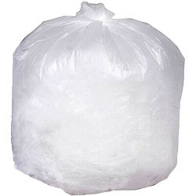 CWC Trash Can Liners - 55 Gal, 17 mic, Natural (Pack of 200 liners)