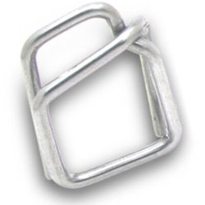 "Metal Buckles for Plastic Strapping - 5/8"" (Pack of 1000 buckles)"