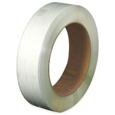 """CWC Polypropylene Strapping - 10.5 mm x .024"""" x 8000', Clear, 16"""" x 6"""""""