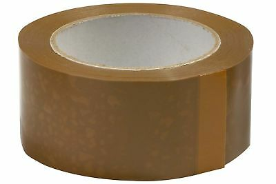 Buff Tape Brown Parcel Tape 48mm x 40m Ultratape Sello Tape cartoon Sealing