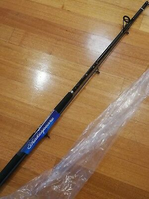 SHAKESPEARE Contender 7'(2.1m) 2 PIECE SPINNING FISHING ROD 10-25lb (MEDIUM)$29