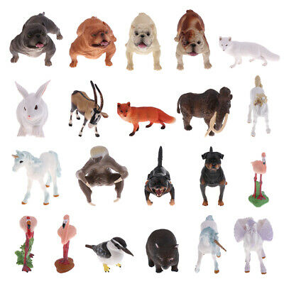 Realistic Wildlife Zoo Farm Animal Model Figure Kids Toy Collectibles Home Decor