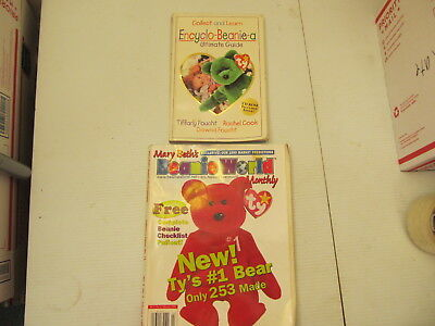 Beanie Baby Guide Book encyclo beanie a beanie world mag 1998 monthly mary beth