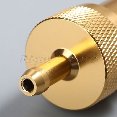 """CNC Aluminum Alloy Gold Motorcycle Oil Gas Fuel 1/4"""" 6mm Inline Cleaner Filter"""