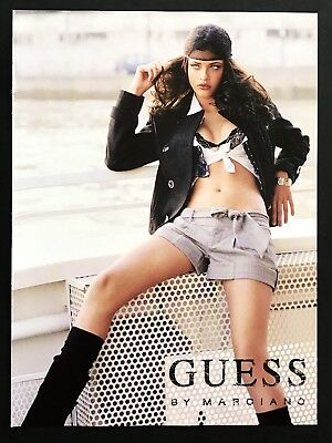 2006 Vintage Print Ad GUESS Marciano Woman's Fashion Couture Image Photo Legs