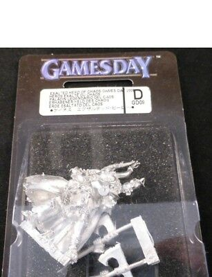 Warhammer Gamesday 2009 GD09 Limited Edition Metal Exalted Hero of Chaos Sealed