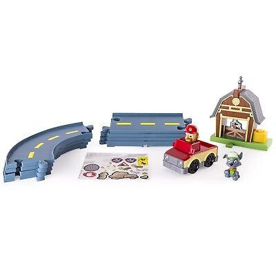 Paw Patrol - Rocky's Barn Rescue Track Set. Free Delivery