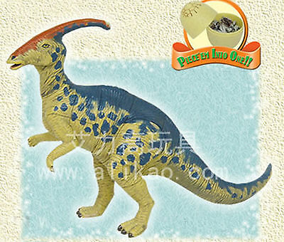 4D Animal Puzzle Toy Assembly Parasaurolophus Egg #B-102