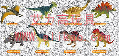 8 kinds 4D Animal Puzzle Toy Assembly Dinosaur Tyrannosaurus rex Dragon B-76
