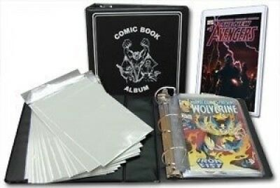 BCW Comic Book Collector Starter Kit (Comes with Album, Pages, Bags, Backing