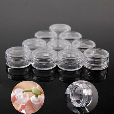 2/3/5/10/15/20g Sample Cosmetic Makeup Jars Pots Face Cream Lip Balm Container P