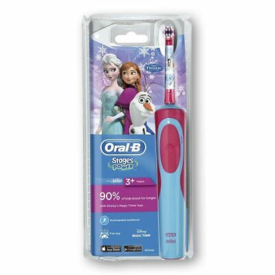 Oral-B Stages Power Kids elektrische Zahnbürste, Die Eiskönigin, Frozen