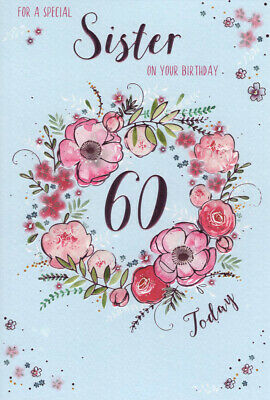 ICG Sister 60th Birthday Card