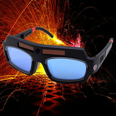 Solar Powered Auto Darkening Welding Mask Helmet Goggle Welder Glasses