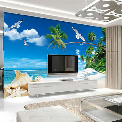 Crystal Concise Sky 3D Full Wall Mural Photo Wallpaper Printing Home Kids Decor