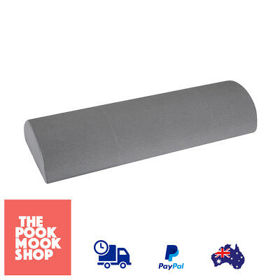 Half Roller Workout Strengthen Foam Toning Base Exercise Muscle, Body, Fitness