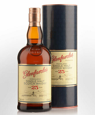 Glenfarclas 25 Year Old Single Malt Scotch Whisky (700ml)