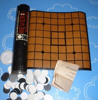 Reversi Classic Board The Game Merchant  Vintage Tube Canister Travel