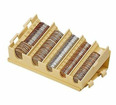 Coin Sorter Organizer Tray Counter Money Holder Compartment Dispenser Sorting