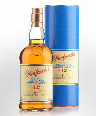 Glenfarclas 12 Year Old Single Malt Scotch Whisky (700ml)