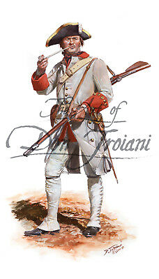 Don Troiani - Fusilier Regiment Berry, 1758 - French & Indian War TFW15