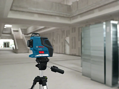 Bosch Professional Cross Line Laser + Stand Accuracy Precise Levelling Tool