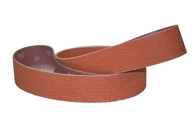 "4""x36"" Sanding Belts 60 Grit Premium Orange Ceramic (2pcs)"