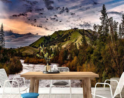 Blear Concise Hills 3D Full Wall Mural Photo Wallpaper Printing Home Kids Decor