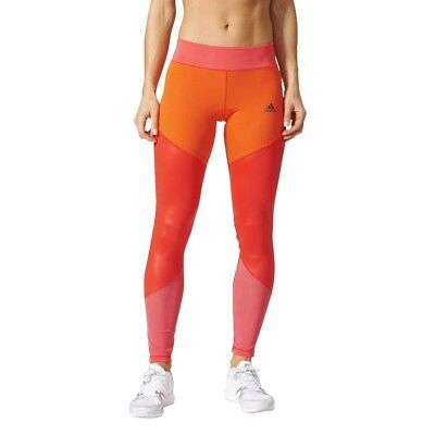 (Small, Red/Rojbas/Rosbas) - adidas Women's Wow Drop 1 Tight Leggings