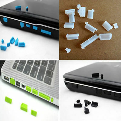 26X Protective Port Cover Silicone Anti-Dust Plug Stopper for Laptop PTCA